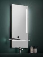 Zierath Kristallspiegel Vogue 4090R BxH: 400x900, Lux:340, LED, 20 W, ZVOGU0332040090