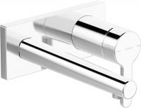 Hansa Fertigmontageset WT-Wandbatterie 2-Loch, Hansadesigno 5109 chrom, 51092183