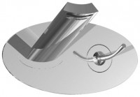 IB Jump Unterputz Waschtischarmatur chrom, mit Klick-Klack Ablaufgarnitur, inklusive Einbaukörper