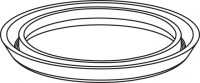 Mepa Lippendichtung für Ab-, laufkorb UPSK-Typ A31/B31, 590226