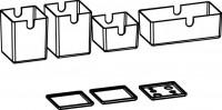 Artiqua COLLECTION 415 Ordnungssystem 4Boxen und 3Deckel