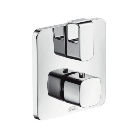 Hansgrohe Thermostat UP Axor Urquiola F-Set chrom mit Absperrventil, 11732000