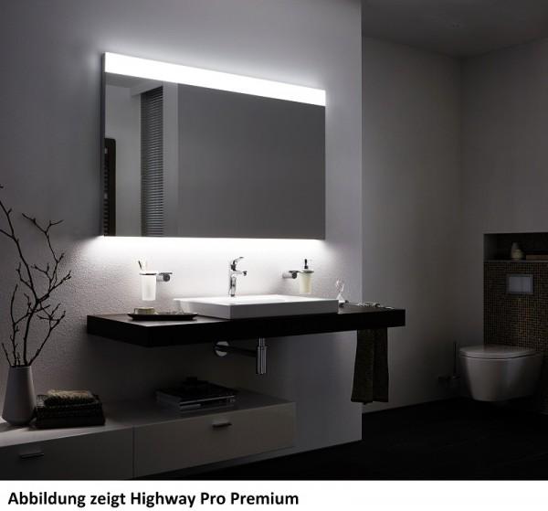 Zierath LED Lichtspiegel Highway Pro Kristallspiegel, BxH: 1200x800