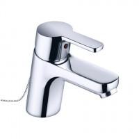 Kludi Waschtisch-Einhebelmischer Logo Neo versenkbare Kette chrom