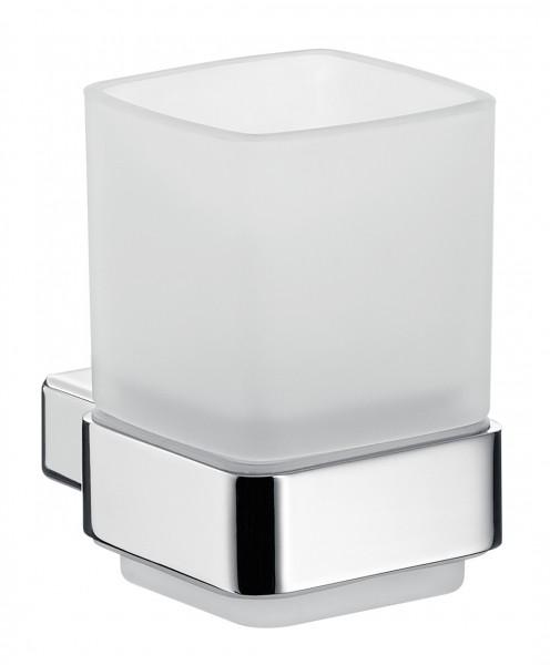 Emco loft Glashalter, Kristallglas satiniert, chrom, 052000100