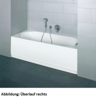 Bette Rechteck-Badewanne Pur Comfort 8760, 180x80x45 cm