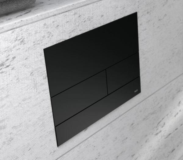 Tece TECEsquare 2 WC-Betätigungsplatte Metall, Farbe: Schwarz matt, 9240833