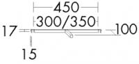 Burgbad Innenorganisation 17x300x100 , ACEN030