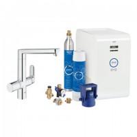 Grohe Blue K7 Starter Kit 31346 für BWT-Filter chrom