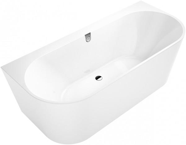 Villeroy & Boch Badewanne Oberon 2.0 1800x800mm Rückwand-BW inkl. Schürze in Wannenfarbe Star White,