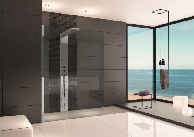 hoesch duschabtrennung thasos 1400x800 li eckvers mit. Black Bedroom Furniture Sets. Home Design Ideas