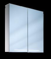 Schneider Spiegelschrank Graceline 100/2/FL/LED, 1x39W+1x21W 1000x700x120 alueloxiert, 116.300.02.50