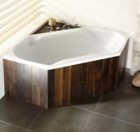 Hoesch Badewanne Spectra 6-Eck 1900x900, weiß