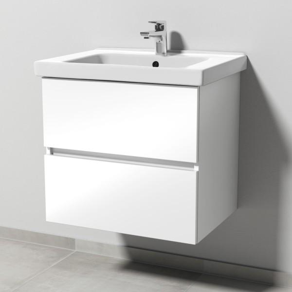 Sanipa Solo One Harmonia Waschtisch-Set 650mm, weiss glanz