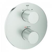 GROHE Thermostat-Wannenbatt. Grohtherm 3000 C, 19468 FMS für Rapido T supersteel, 19468DC0