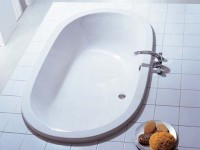 Hoesch Badewanne Waikiki oval 1900x1140, weiß