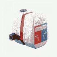 Kludi Unterputz-Therm.-körper DN 15 ThermostatRohbau-Set mit Absperrventil