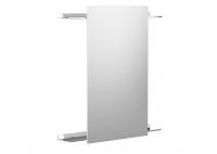 Cosmic Container Global Spiegel 100 cm, Silber glänzend, 7558903