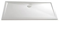HSK Marmor-Polymer Rechteck Duschwanne 90 x 140 x 3,5 cm, weiss, ohne Schürze