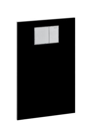 Geberit AquaClean Designplatte für WC Aufsätze zu Sigma Unterputz-Spülkasten Glas weiß 115324SF1