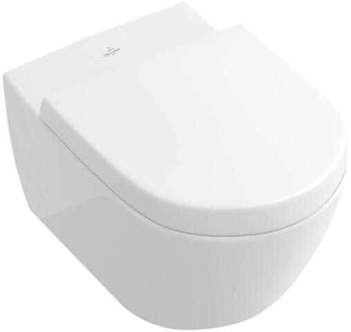 Villeroy & Boch Tiefspül-WC spülrandlos Subway 2.0, DirectFlush ViFresh weiss AntiBac CeramicPlu