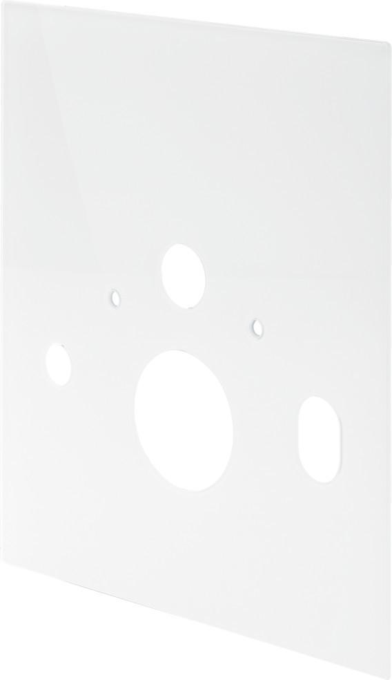 Abdeckplatte 8040.18, in 560x490mm Glas klar/hellgrau 736880