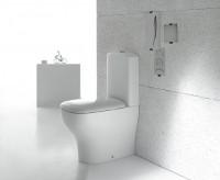 Globo Genesis WC-Kombination T:610, B:370, H:440mm, wandbündige Installation, GE004BI