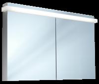 Schneider Spiegelschrank Taikaline/120/2/LED, 1x41W 1200x785x120 alueloxiert, 158.120.02.50