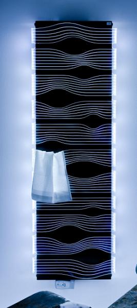 Caleido shine Badheizkörper B: 590 mm, H: 1820 mm, weiss, LED-beleuchtet