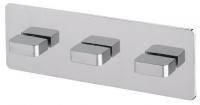 AquaConcept iTap Einhand-Thermostatbrausearmatur ohne Einbaubox - mit 2-Wegeumstellung