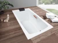 Hoesch Badewanne Largo 1700x800, pergamon