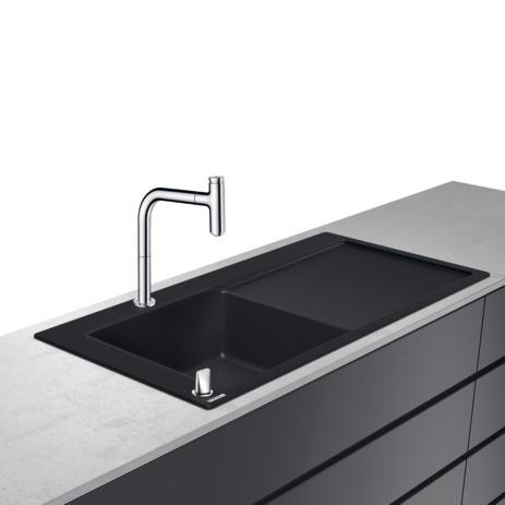 Hansgrohe Select 200 Spülencombi 450 chrom C51-F450-12, 43228000