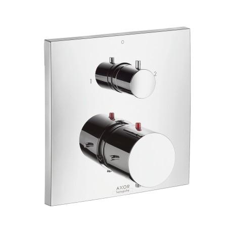 Hansgrohe Thermostatmischer UP Axor Starck X F-Set chrom m.Absperr-und Umstellventil, 10726000