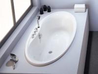 Hoesch Badewanne Midi oval 1850x900 , weiß