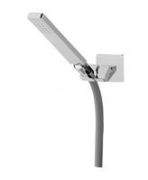 AquaConcept iTap  Handbrause mit Wandhalter regulierbar und Schlauch