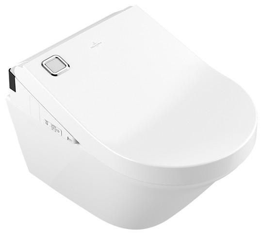 Vivia Wand-Tiefspül-WC DirectFlush mit ViClean-U+ WC-Sitz Combi-Pack 4643E8R1
