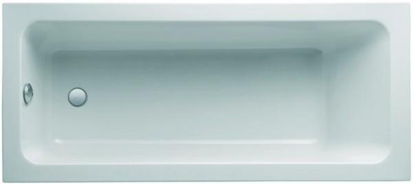 Geberit (Keramag) Badewanne iCon 650475, L: 1700, B: 750mm, weiss, Überlauf am Fußende, 650475000