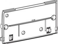 Mepa Montageplatte transparent, mit Schieber UPSK-Typ A31/B31, 590233