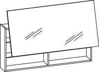 Artiqua DIMENSION 111 Lift Spiegelschrank B:1200mm