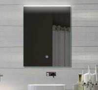 Neuesbad LED Lichtspiegel, Touch Schalter, Lichtfarbe einstellbar, B:520, H:700 mm