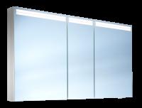 Schneider Spiegelschr. Arangaline/130/3/LED, 1x29W+1x26W LED 1300x700x120 alueloxiert, 160.130.02.50