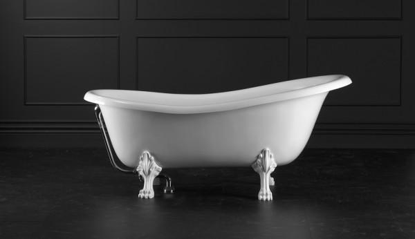 Victoria & Albert Roxburgh freistehende Badewanne 1710 x 815 mm asymmetrisch