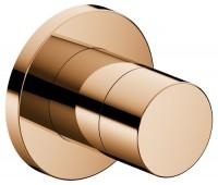 Keuco Absperrventil IXMO Pure 59541, rund, Bronze poliert, 59541020001