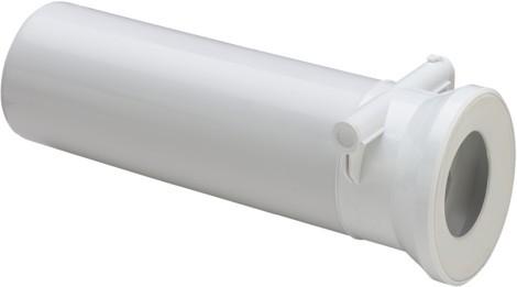 WC Anschlussstutzen 3815.5 in 400mm Kunststoff weiss 134969