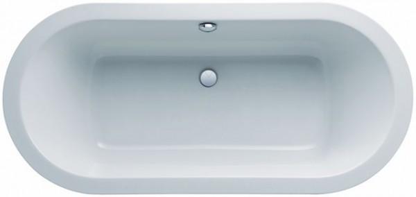 Geberit (Keramag) Ovalwanne iCon 650400, L: 1800, B: 850mm, weissm 650400000