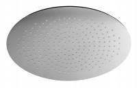 Herzbach Living Spa Slim-Regenbrause, ovale Ausführung 450mm x 300mm chrom, 11.600450.1.01