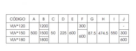 Vulcano Heizkörper Abmessungen Tabelle